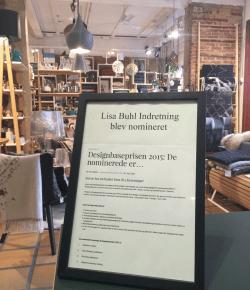 Vidste du at…Lisa Buhl i Kolding er blandt de 4 bedste interiørbutikker i Danmark – nu to år i træk!