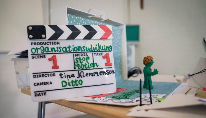 Tina bruger animation som værktøj til organisationsudvikling