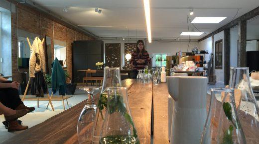 Med Designership fra Kolding, på besøg hos Design Werck i København